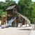 Zona · de · juegos · parque · árbol · ninos · feliz · deporte - foto stock © Serg64