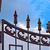 железной · ворот · стены · дизайна · забор · антикварная - Сток-фото © serge001