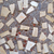 具体的な · 壁 · テクスチャ · セラミック · ピース · 家 - ストックフォト © serge001