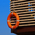 parede · blue · sky · quadro · laranja - foto stock © serge001
