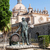 Statue of Tio Pepe near Cathedral in Jerez de la Frontera, Spain stock photo © serpla
