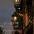 Glowing street lamp at night stock photo © serpla