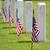 кладбище · день · Соединенные · Штаты · американский · флагами - Сток-фото © sframe