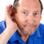 senior hard of hearing stock photo © sframe