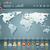 vetor · mundo · infográficos · conjunto · 3D · mapa · do · mundo - foto stock © sgursozlu