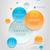 moderno · infográficos · modelo · de · design · papel · abstrato · mundo - foto stock © sgursozlu