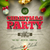 christmas party poster stock photo © sgursozlu