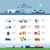 samochód · dostawczy · import · szczegółowy · ilustracja · etykiety · eps10 - zdjęcia stock © sgursozlu