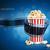 kamera · film · şeridi · patlamış · mısır · mavi · ayrıntılı · elemanları - stok fotoğraf © sgursozlu