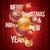 neşeli · Noel · yılbaşı · kıvılcım · star · tebrik · kartı - stok fotoğraf © sgursozlu