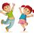 ragazzo · jumping · rosso · trampolino · illustrazione · felice - foto d'archivio © sgursozlu