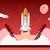 uzay · roket · başlatmak · yukarı · proje - stok fotoğraf © shai_halud