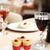 мороженым · стекла · очки · ресторан · таблице · фрукты - Сток-фото © shamtor