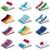 zászló · három · szatén · textúra · terv · háttér - stock fotó © sharpner