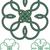 クローバー · アイコン · パターン · ケルト · スタイル · 緑 - ストックフォト © sharpner