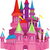 fairy tale pink castle stock photo © sharpner