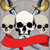 pirate poster with skulls stock photo © sharpner