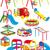jeugd · leuk · glad · slide · speeltuin - stockfoto © sharpner