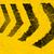 grunge distressed black road direction marking paintbrush stroke stock photo © shawnhempel