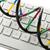 DNA鑑定を · 孤立した · 白 · 抽象的な · デザイン · モデル - ストックフォト © shawnhempel