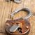 古い · さびた · 南京錠 · 木製 · テクスチャ · 木材 - ストックフォト © shawnhempel
