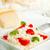 branco · prato · tigela · arroz · tomates · manjericão - foto stock © shawnhempel