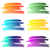 water color gradient strokes background collection stock photo © shawnhempel