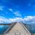 híd · tenger · égbolt · víz · felhők · nap - stock fotó © shihina