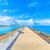 cielo · agua · nubes · carretera · sol · naranja - foto stock © shihina