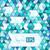 géométrique · mosaïque · modèle · bleu · triangle · texture - photo stock © sidmay