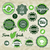 collection green vector labels badges and icons stock photo © sidmay