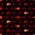 Seamless abstract pattern, wits red and orage fish stock photo © sidmay