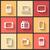 vetor · projeto · ícones · teia · móvel · telefone - foto stock © sidmay