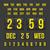 geriye · sayım · saat · tarih · takvim · sayı · tahtası · vektör - stok fotoğraf © sidmay