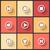 vetor · projeto · ícones · teia · móvel · música - foto stock © sidmay