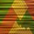 抽象的な · ヴィンテージ · 背景 · 緑 · ファブリック · 赤 - ストックフォト © Silanti