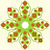 zöld · kör · virág · poszter · fektet · minimalista - stock fotó © silanti