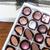 chocolate · caixa · arco · saboroso · feito · à · mão · branco - foto stock © silkenphotography