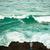 rocha · pescaria · pescador · custo · grande · onda - foto stock © silkenphotography