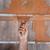 男 · 階 · タイル · 接着剤 · セラミック - ストックフォト © simazoran
