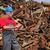 recycling · industrie · hoop · oude · metaal · werknemer - stockfoto © simazoran