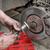car mechanic work on disc brakes stock photo © simazoran