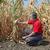 jeans · seca · campo · desesperado · homem - foto stock © simazoran