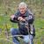 Agriculture, pruning in vineyard, senior man working stock photo © simazoran