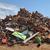 recycling industry heap of old metal stock photo © simazoran
