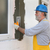 house renovation polystyrene wall insulation stock photo © simazoran