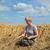 gazda · sérült · búzamező · búza · növény · mező - stock fotó © simazoran