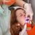 tandarts · uv · lamp · vrouwelijke · patiënt · jonge · vrouw - stockfoto © simazoran