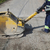 работник · дорожное · строительство · дороги · здании · город - Сток-фото © simazoran