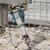 construction site demolishing with electric plugger stock photo © simazoran